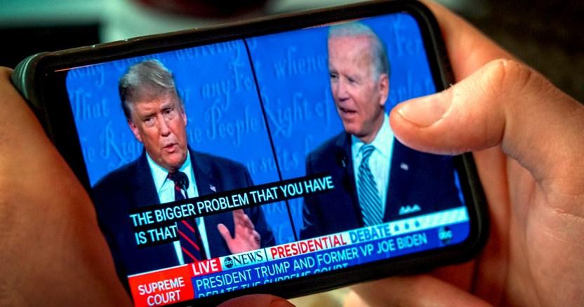 """trump biden - """"¿Te imaginas si pierdo?"""", tendría que irme de EU por perder ante el peor candidato de la historia: Trump"""