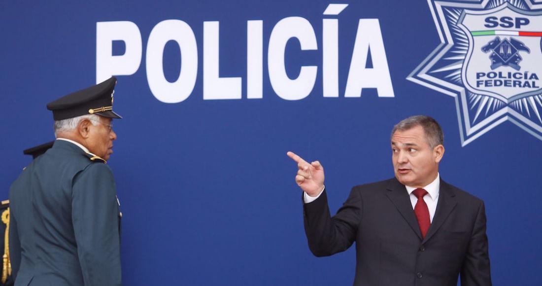 Genaro García Luna, Secretario de Seguridad Pública en el Gobierno de Felipe Calderón.