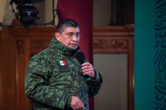 Luis Cresencio Sandoval, titular de la Secretaría de la Defensa Nacional (Sedena).