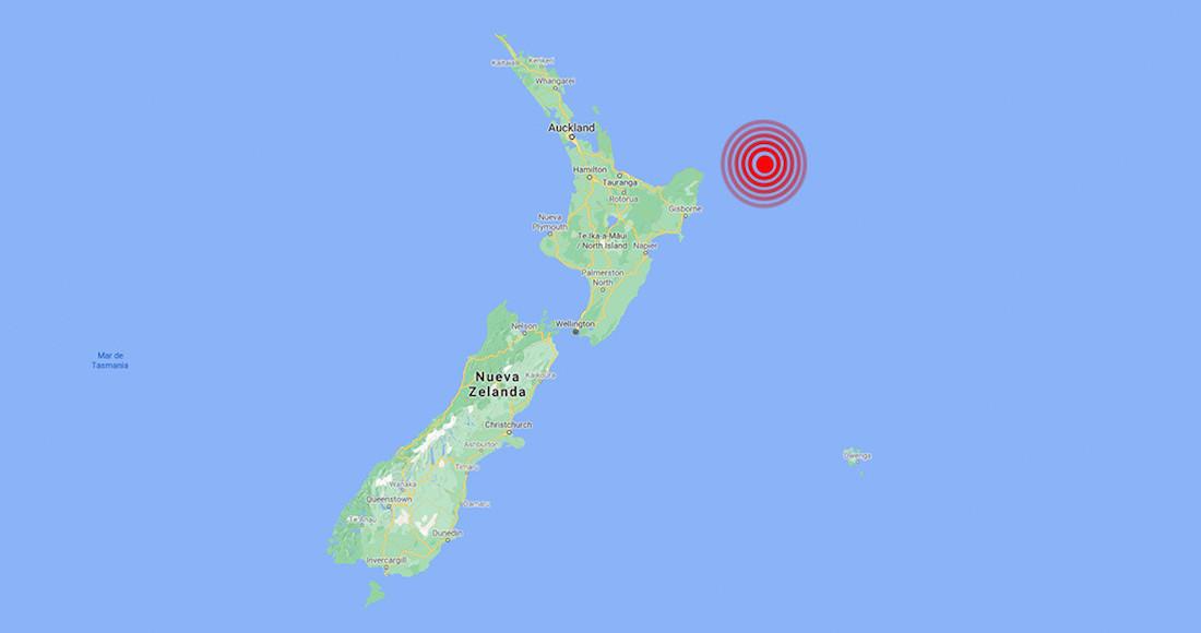 Foto del sismo de Nueva Zelanda