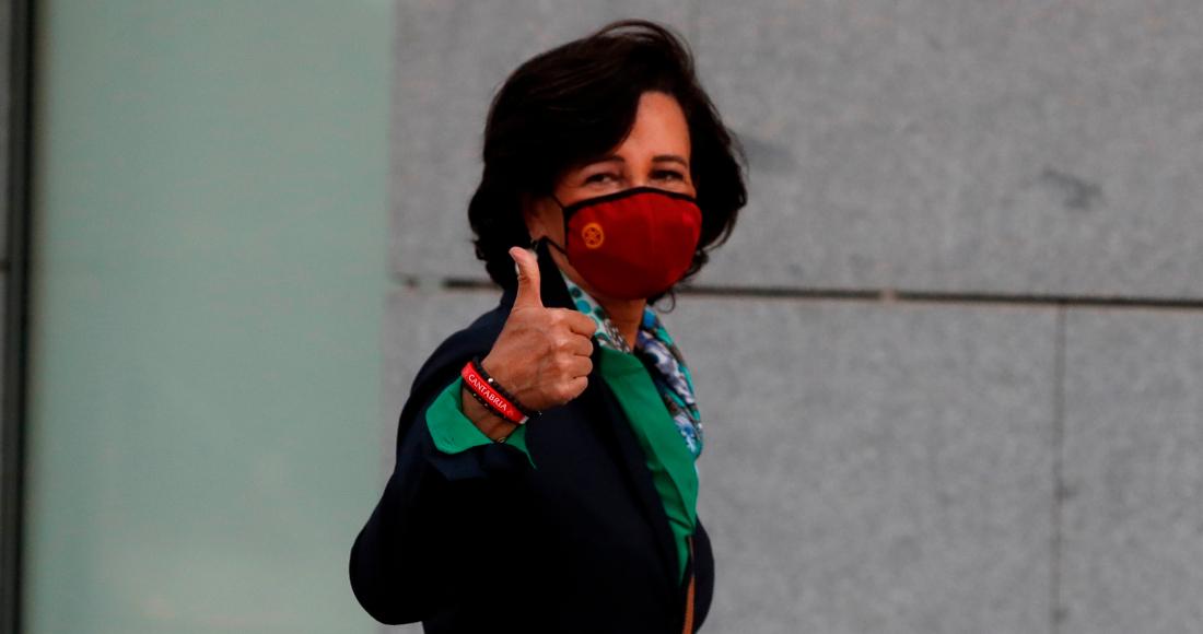 La principal accionista y presidenta global de Banco Santander, Ana Botín.