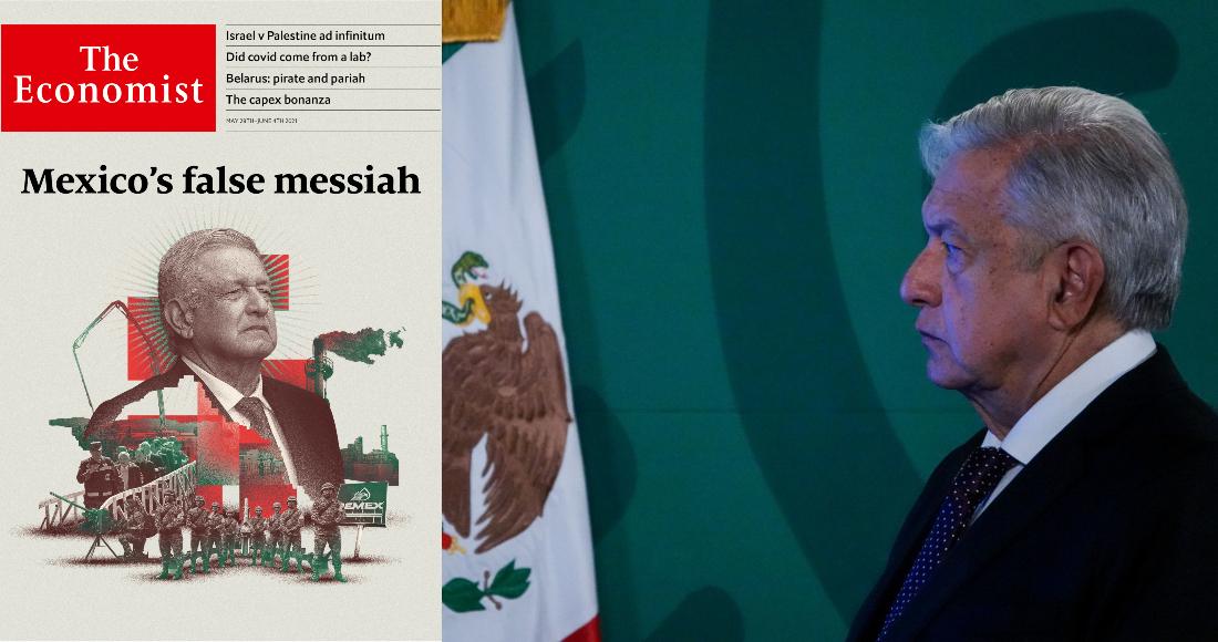 En su artículo de portada, la revista critica los dichos y las acciones de quien buscó ser Presidente de México en tres periodos electorales.