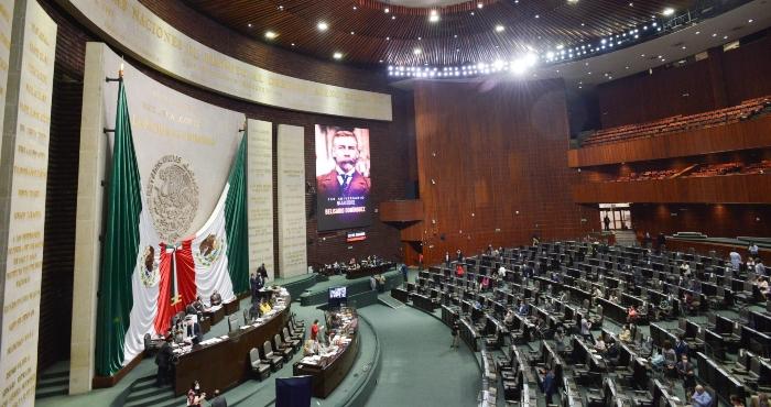 Sesión ordinaria de la Cámara de Diputados.