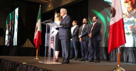 Fue el 1 de julio de 2018. Foto tomada del sitio de López Obrador.