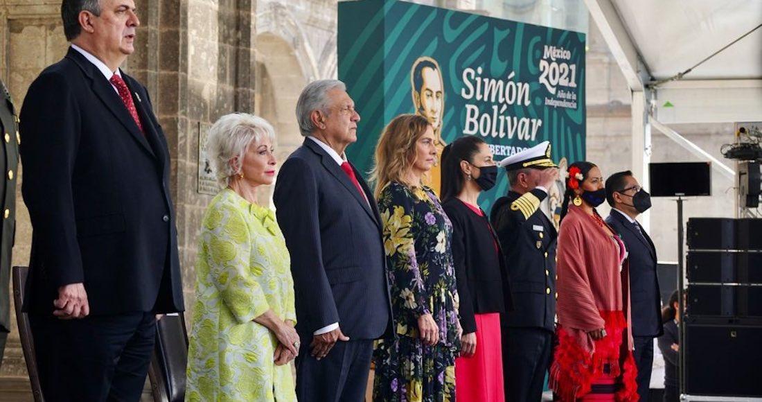 Homenajea a Simón Bolívar - AMLO alaba fortaleza del pueblo cubano y pide a  EU no más injerencia en Latinoamérica - SinEmbargo MX