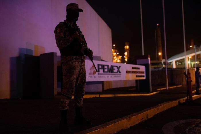 incendio refinería Pemex