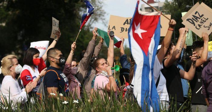 Detenidos por protestas en Cuba