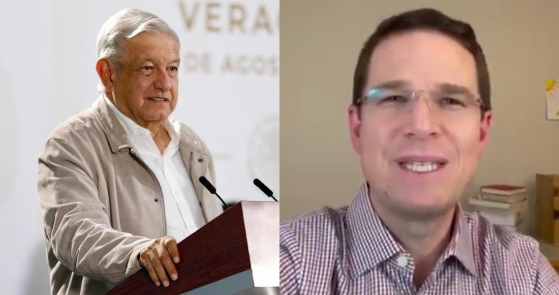 El Presidente Andrés Manuel López Obrador y el panista Ricardo Anaya.