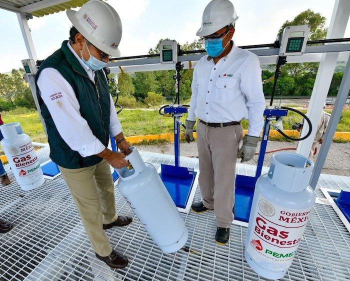 e9barlwuuaewz79 - Cada terminal en Hidalgo de Gas Bienestar llenará 4 mil 800 cilindros al día