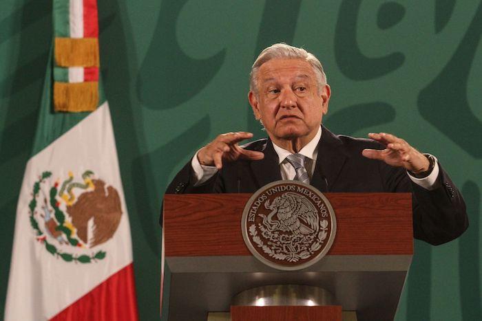Andrés Manuel López Obrador, Presidente de México, en conferencia de prensa.