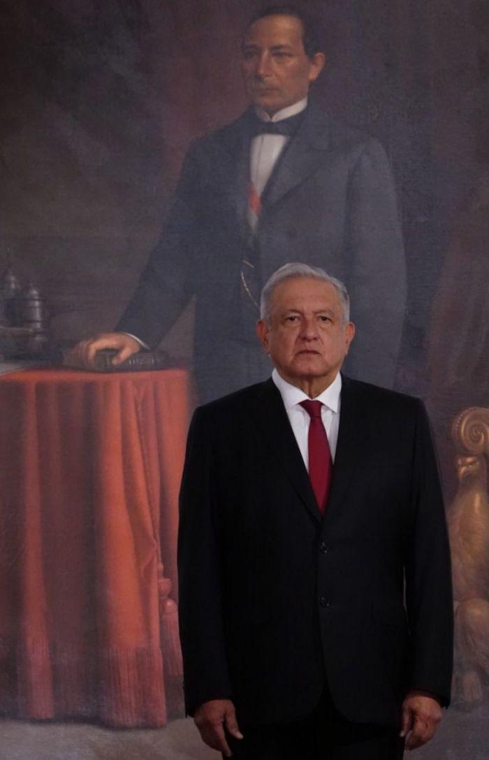 Andrés Manuel López Obrador, Presidente de México, previo a su Tercer Informe de Gobierno.