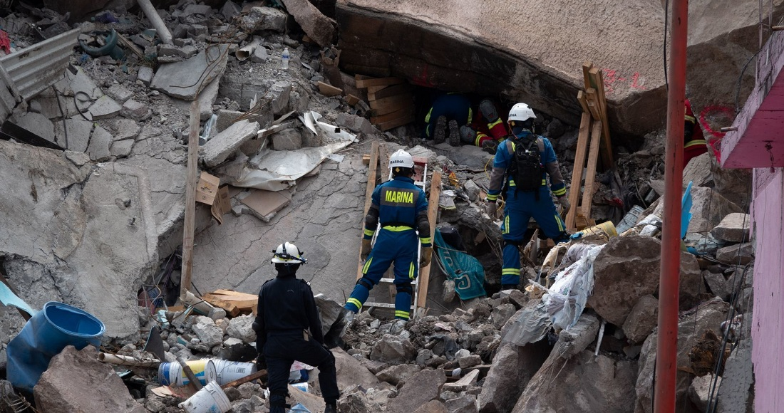 Continúan trabajos de rescate en Chiquihuite