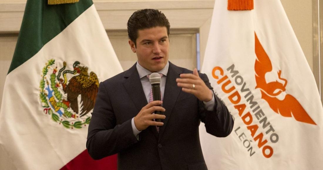 Samuel García, Gobernador electo de Nuevo León.