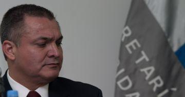 Genaro García Luna, extitular de la Secretaría de Seguridad Pública en el sexenio de Felipe Calderón.