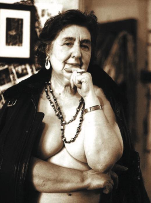 La poetessa Alda Merini