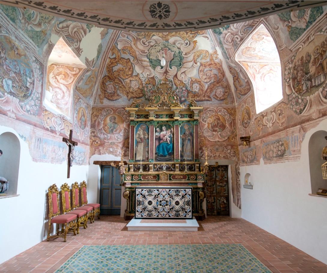 Chiesa di San Lorenzo nella Grancia in Brindisi di Montagna