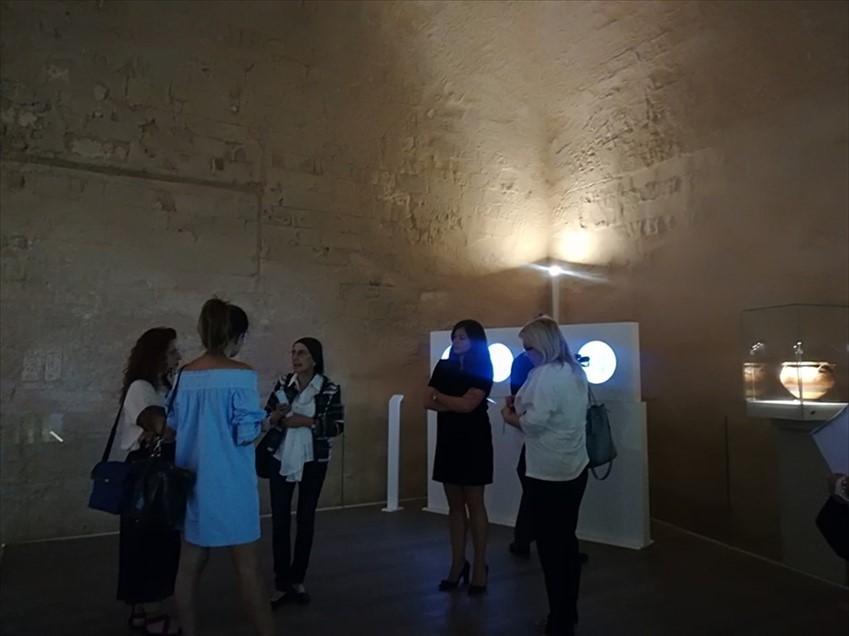 La mostra di De Mitri a Taranto