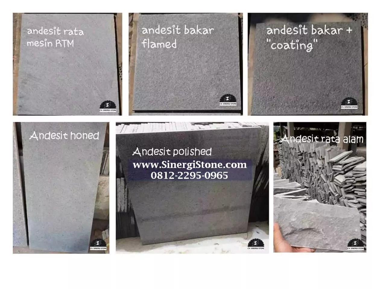 Ragam Produk Batu Alam Andesit Cirebon