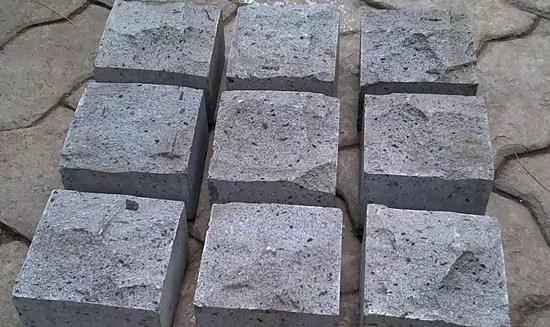 Ukuran Batu Andesit