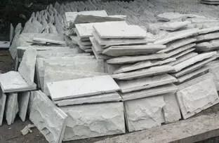 Batu Alam Putih Bobos