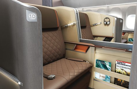 Image result for singapore airlines new first class