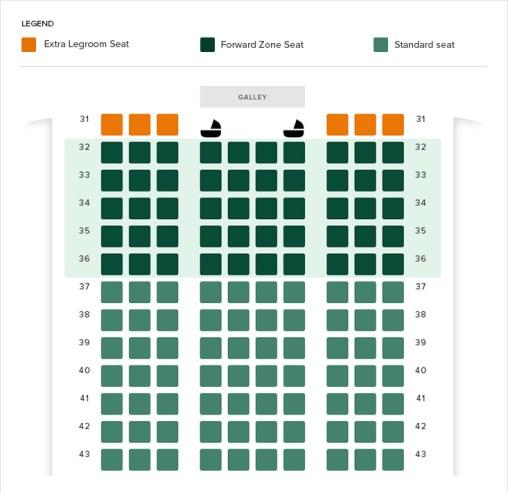 sample seat map