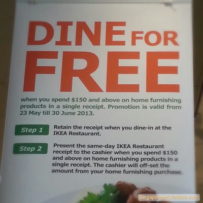 IKEA Singapore - DINE For Free