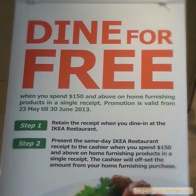 IKEA Singapore - DINE For Free