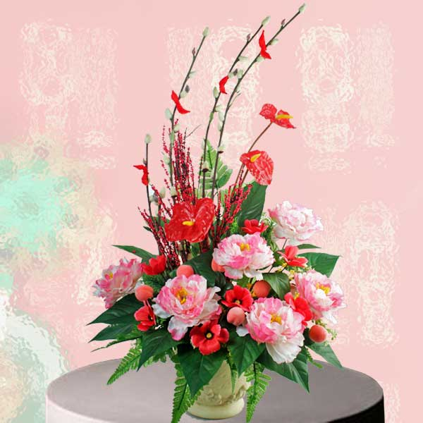 Chinese New Year Flower Delivery Singapore  Buy Lunar New Year Flowers Lunar New Year Artificial Flowers Delivery