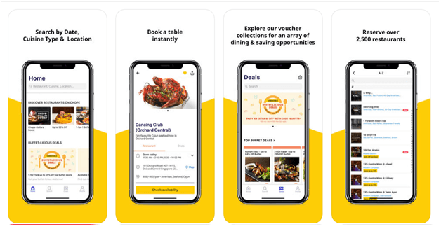 Chope Food App