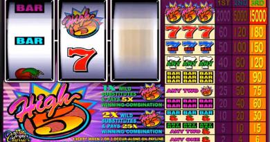 High five slot