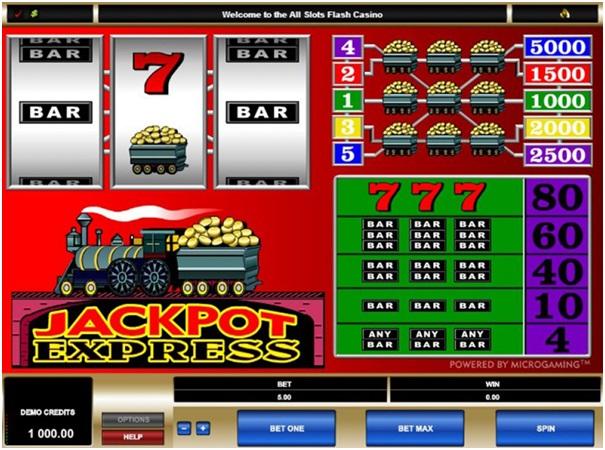 Jackpot Express slot game