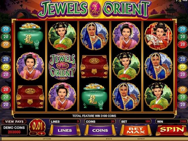 Jewels Orient slot