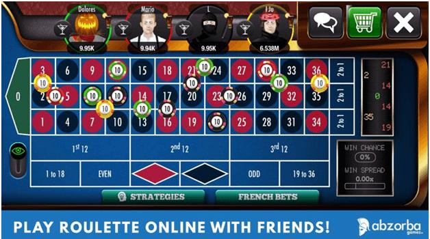 Roulette live casino app