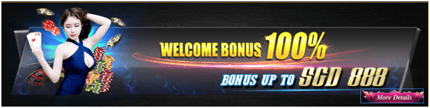 Welcome bonus at Singapore online casinos