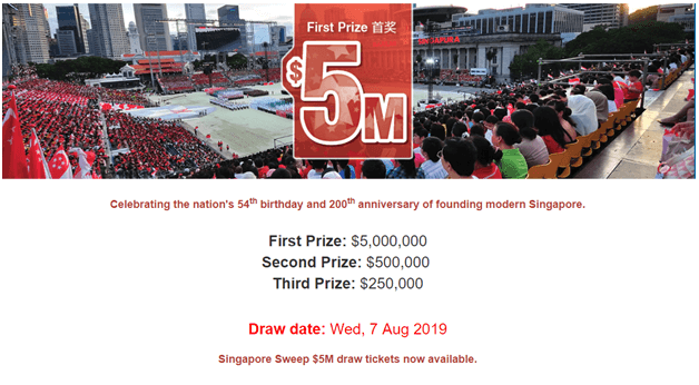 How to get prize winning Singapore Sweep