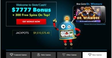 Slotocash casino singapore play