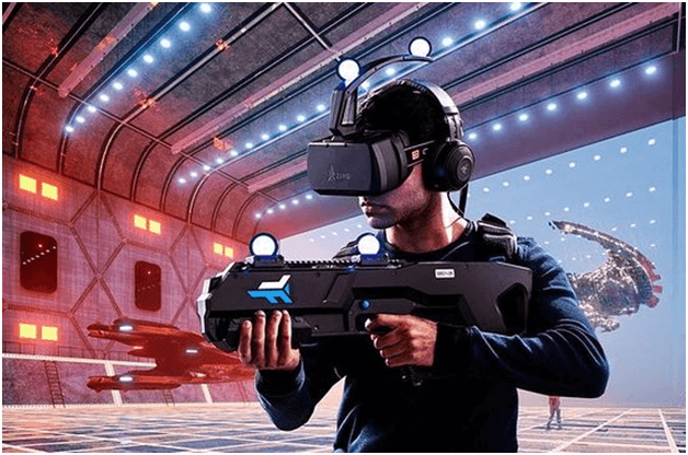 Virtual Reality rooms in Singapore