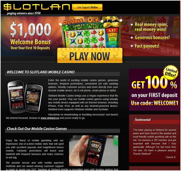Slotland online casino el conquistador golf resort x26 casino