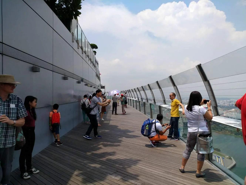 Marina Bay Sands Skypark Singapore - Entrance Fee & Restaurant