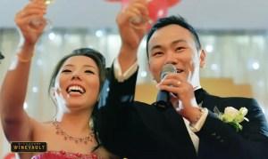 Uncorks Wine Wedding