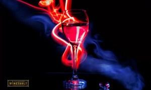 Light art wine