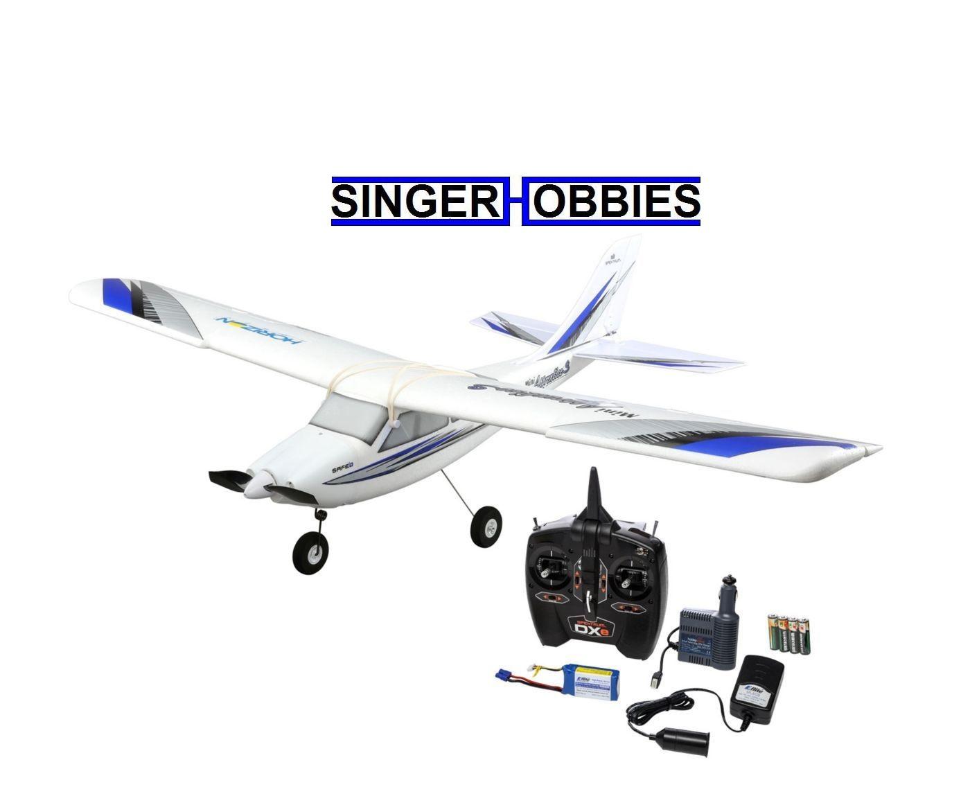 Hobbyzone Mini Apprentice S Rtf Radio Control Airplane W