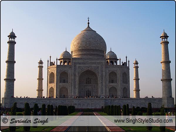 Taj Mahal, Agra, India, Architectural Photography