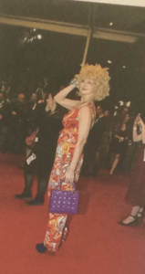 the singing psychic on amy RED Carpet premiere at cannes film festival 2015