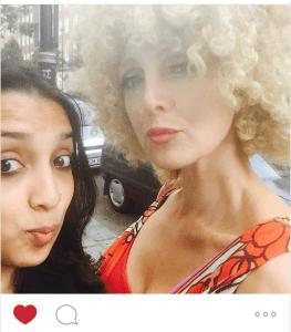 instagram fan shot on london streets