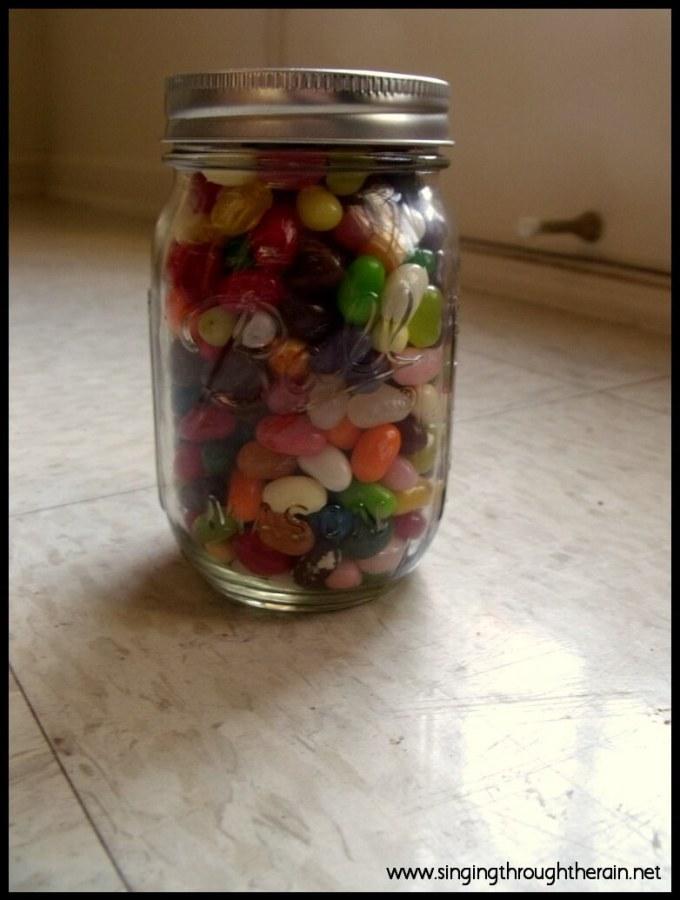 Deployment Idea 1# – Daddy Jelly Bean Jar