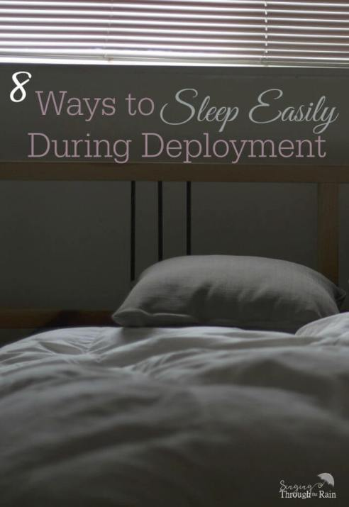 How to Sleep Easily During Deployment