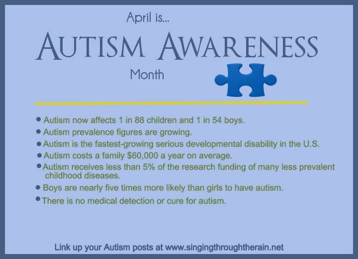 Autism Awareness Day: My Story | Singing through the Rain