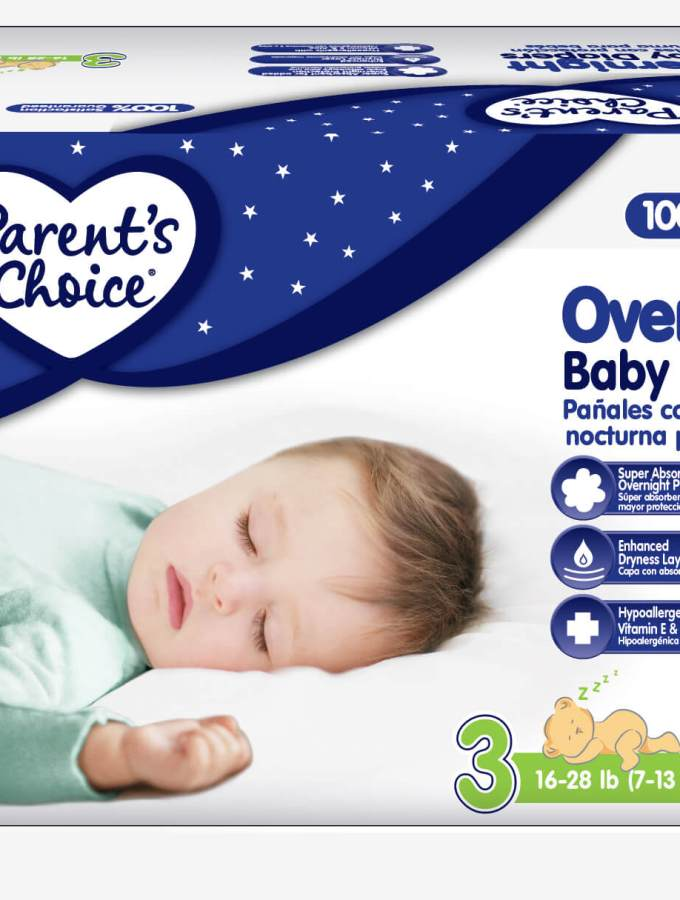 Parent's Choice Overnight Baby Diapers